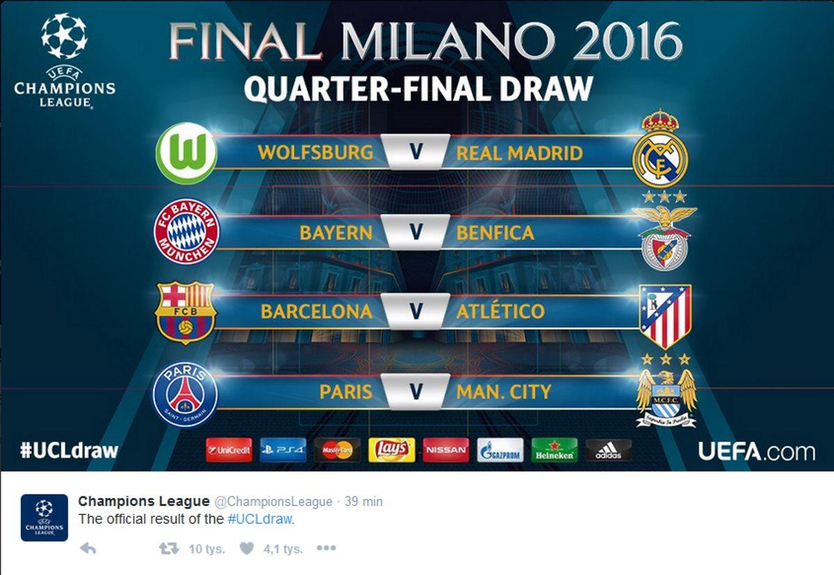 Liga Mistrzów: Liga Mistrzów, Czyli Jak Zwykle Bój Na Szczycie Primera