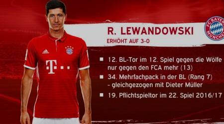 Lewandowski Wolfsburg 50a