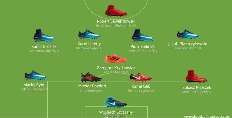 Darmowa dostawa szalona cena wielka wyprzedaż W jakich butach grają nasi reprezentanci? | Futbolfejs.pl